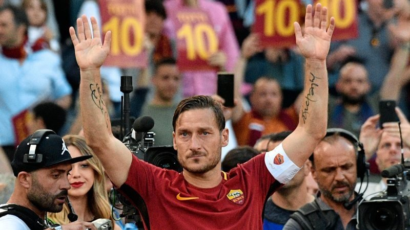 Totti Abschied