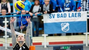 Bad Laers Volleyballerinnen gegen Berlin