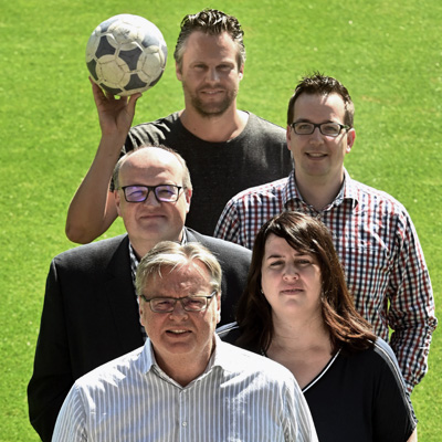 Podcast-Teamfoto